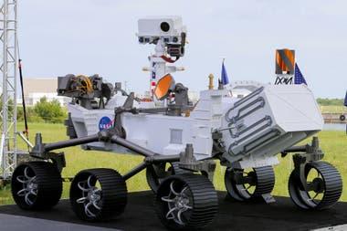 El robot de la NASA que explorará la superficie de Marte