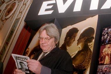 Murió Alan Parker, director de Evita, Mississippi en llamas y Expreso de medianoche, a los 76 años