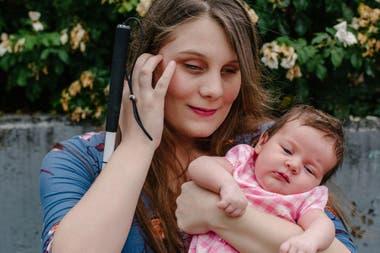 Taylor Ellis y su hija Rosalie