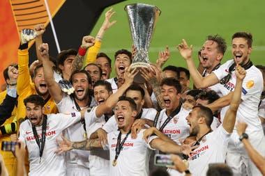 Sevilla, el ganador de la Europa League