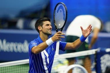 Otro sólido paso de Novak Djoovic en el US Open