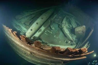 El barco se mantuvo por las características particulares del mar Báltico