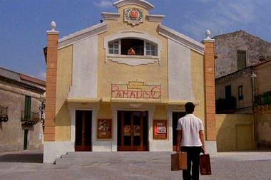 El set de Cinema Paradiso se instaló en Palazzo Adriano, Palermo