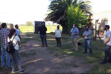 Los herederos estuvieron reunidos con el diputado provincial Luciano Bugallo (CC-Juntos por el Cambio), que presentó un pedido de acceso a la información pública ante Ustarroz