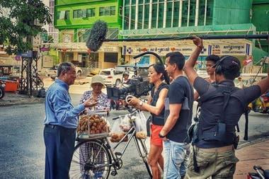 Alice Gu animó a Ted de filmar una producción cinematográfica sobre su vida.