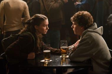 Rooney Mara como Erica Albright, personaje creado por Aaron Sorkin