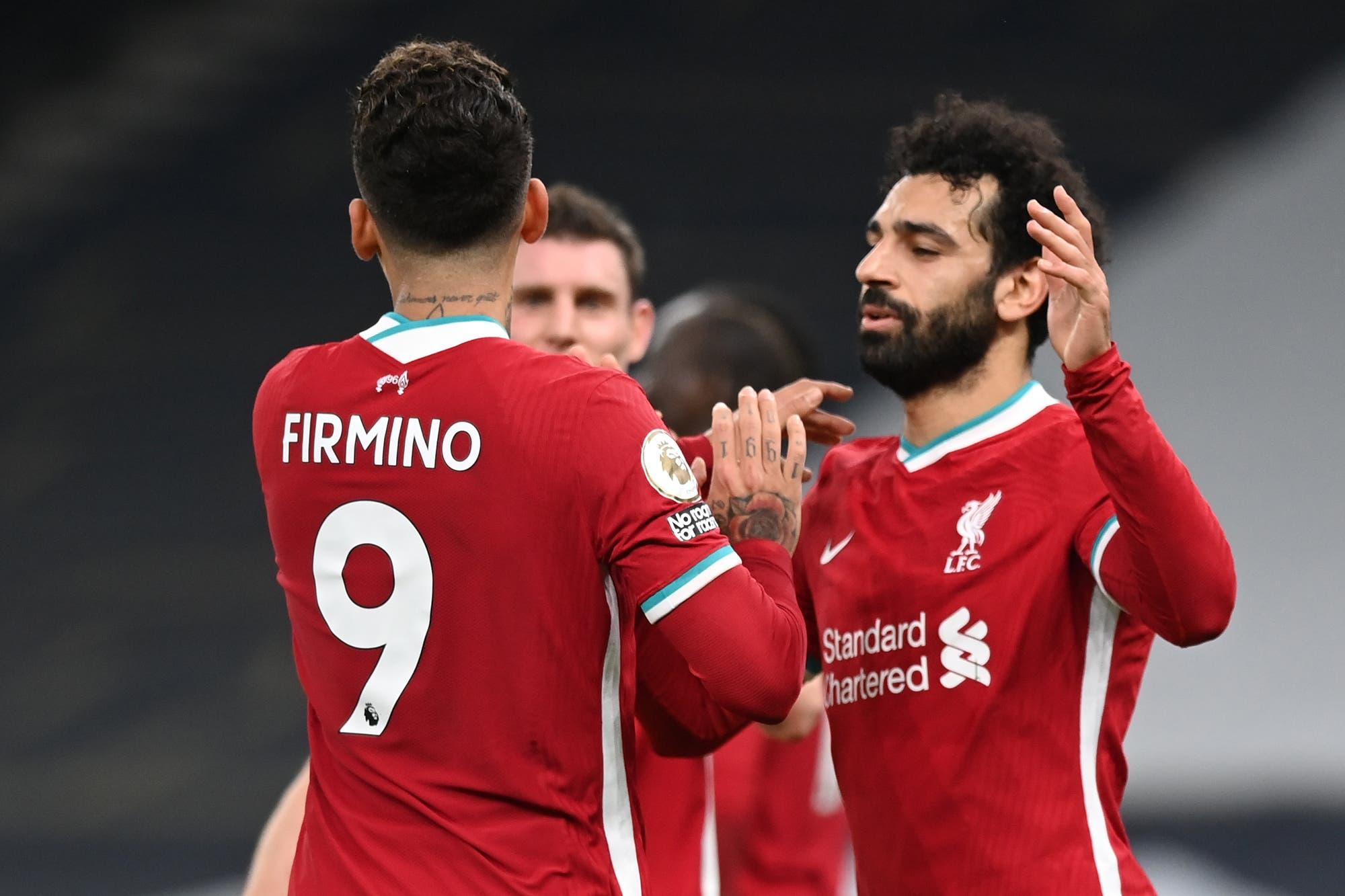 Liverpool le ganó a Tottenham y volvió a festejar luego de cinco partidos en la Premier League