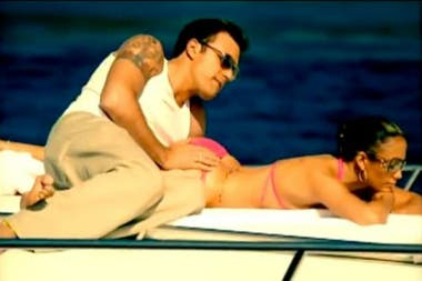 El Bennifer original. Ben junto a su ex Jennifer Lopez en el video Jenny from the Block