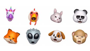 Los animoji toman el audio y la expresión del usuario o de un video