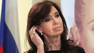 Cristina reclama su pensión como expresidenta