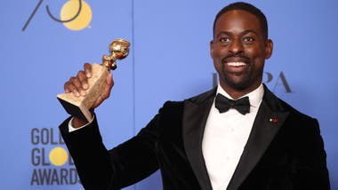 Sterling K. Brown, mejor actor dramático por la serie This Is Us