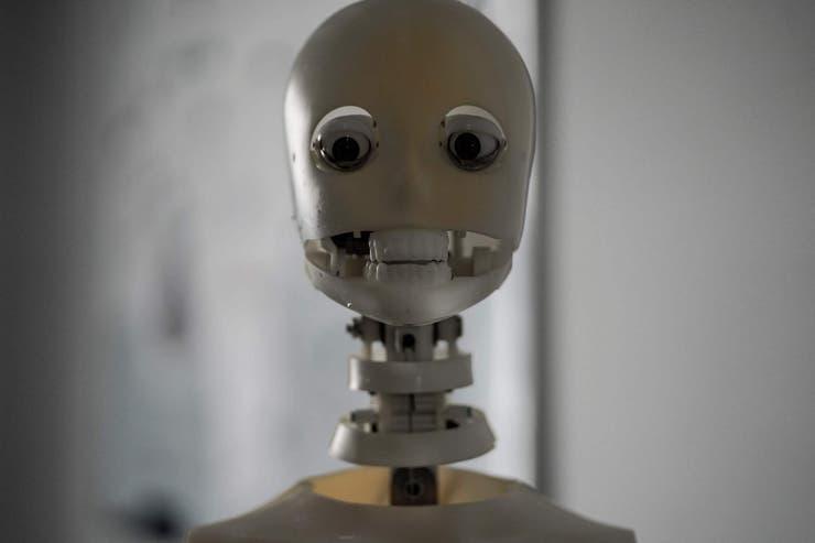 Así luce el esqueleto de la nueva generación de muñecas robots en China