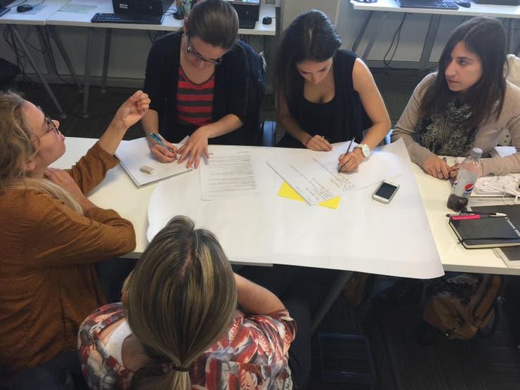 Las clases en el Aula Redacción de LA NACION exploran todos los formatos periodísticos existentes y potenciales