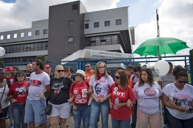 La Policía Federal de Curitiba transformó una de sus salas en una celda especial para recibir al expresidente