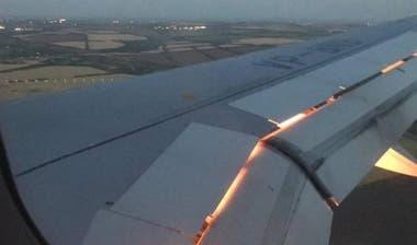 Susto en el avión de Arabia Saudita