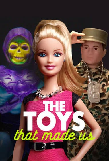 "Afiche oficial de ""The Toys that made us"""