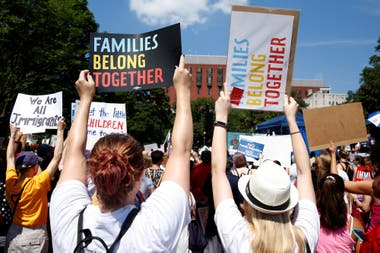 Protestas contra la política migratoria de Donald Trump