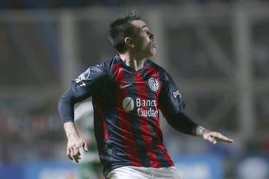 Pablo Mouche, carta de gol en San Lorenzo