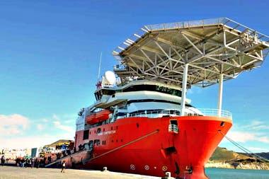 El buque Seabed Constructor es de bandera noruega