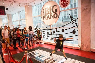 The big piano, antes del cierre, en 2015