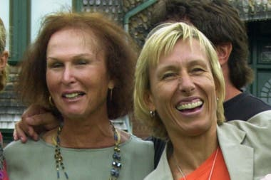 Richards fue coach de la legendaria Martina Navratilova