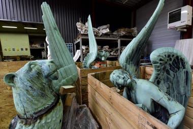Las estatuas que se salvaron