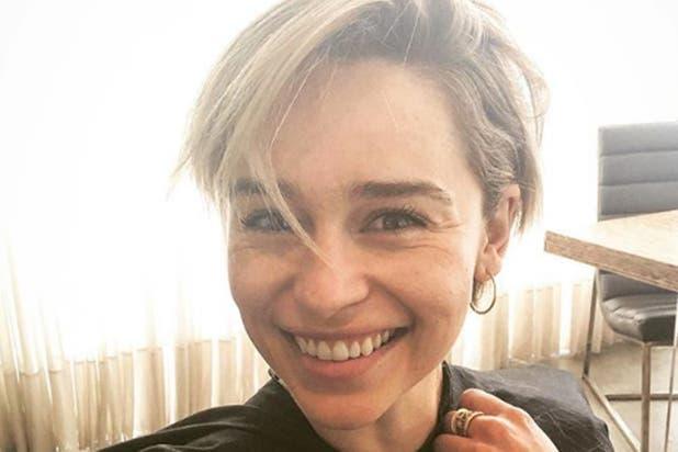 7ecdfc2a8 GOT  Emilia Clarke bromeó sobre el desliz del