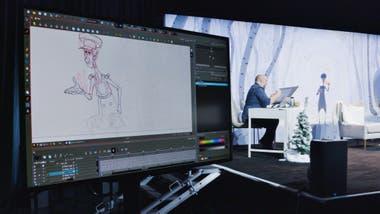 En los estudios de animación, un puñado de creadores trabaja en los próximos lanzamientos