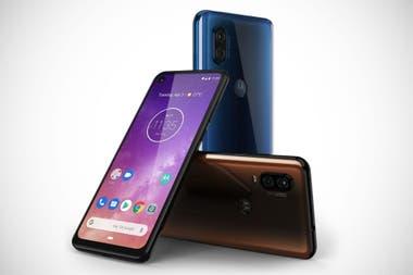 92b3af8ded8 Con una cámara trasera dual de 48 y 5 megapixeles, el One Vision utiliza  Android
