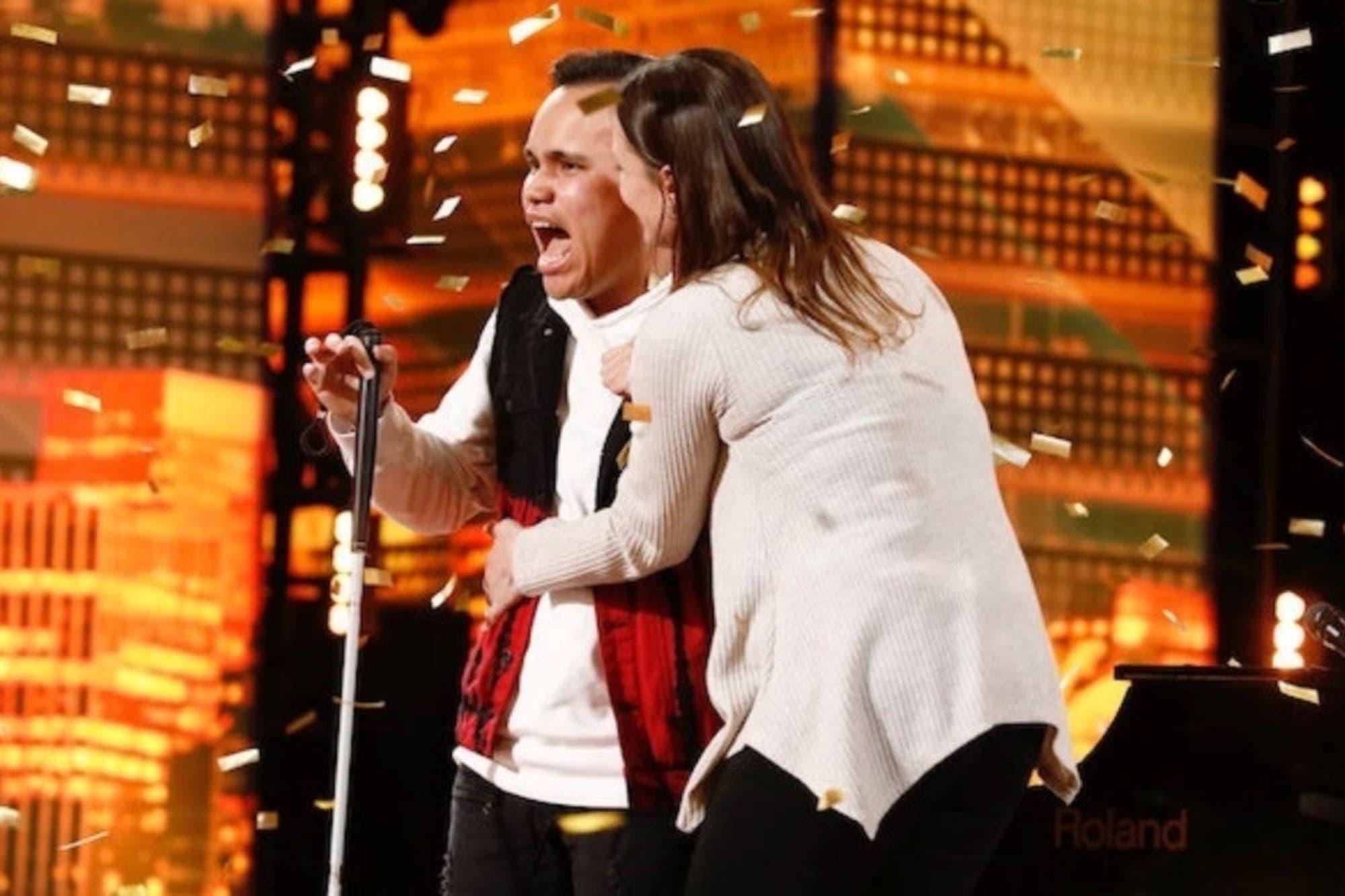 La audición de un joven ciego y autista que hizo llorar al jurado de America's Got Talent