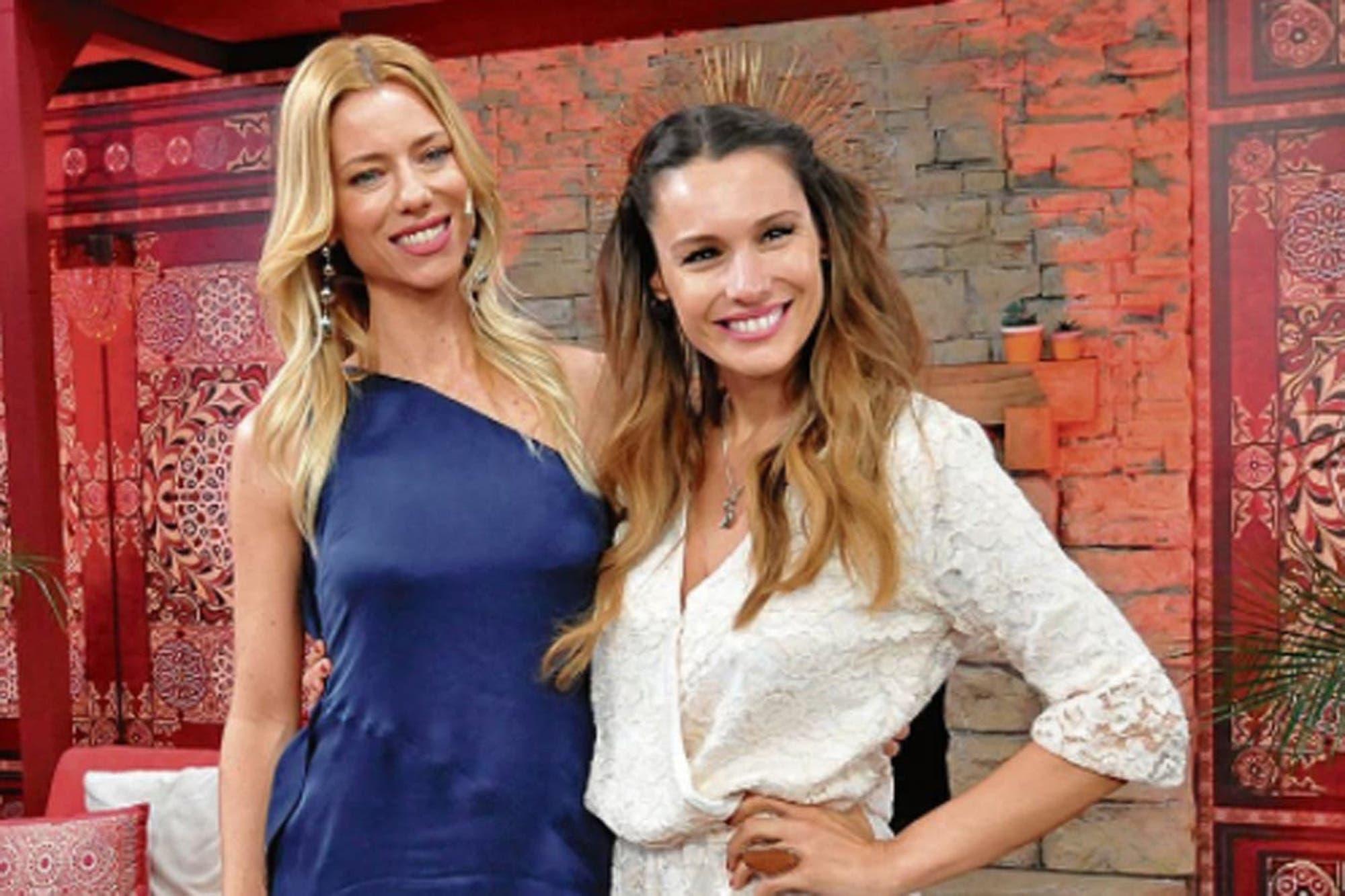 """¿Nuevo round? Nicole Neumann y Pampita Ardohain, juntas en el jurado del """" Súper Bailando"""""""