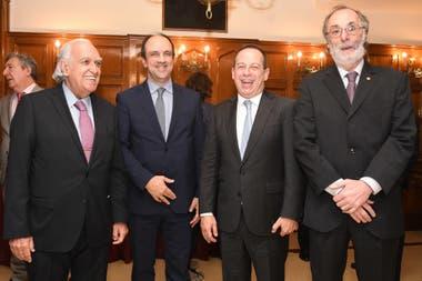 Ricardo Gil Laavedra, Martín Etchevers y Pablo Tonelli