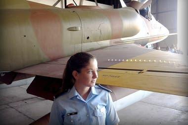 Sofía estudió enla Escuela de Aviación Militar de Córdoba