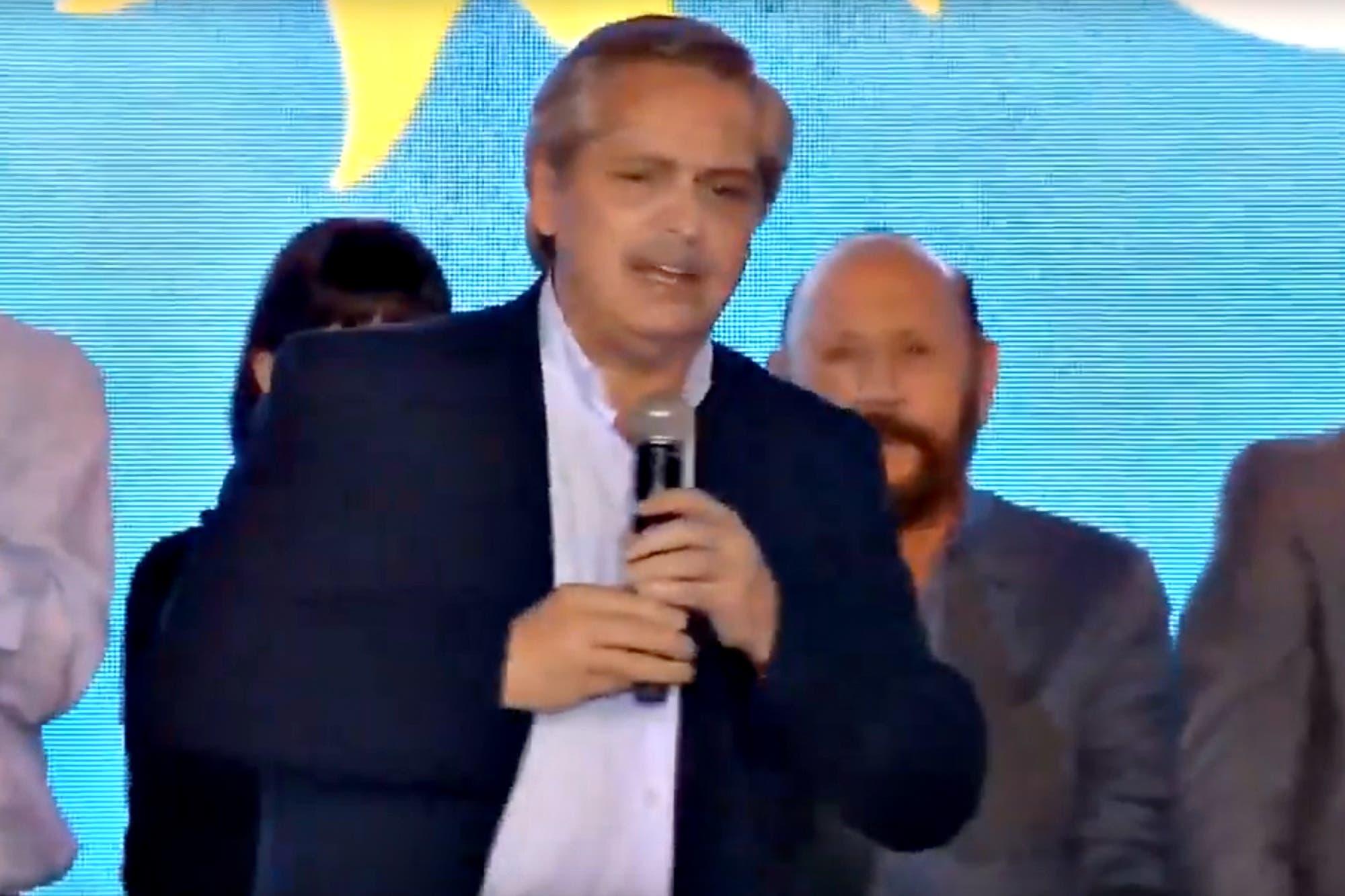 """Alberto Fernández: """"Se acabó la Argentina privilegiada y la Argentina que padece"""""""