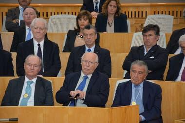 El auditorio estuvo integrado por importantes empresarios