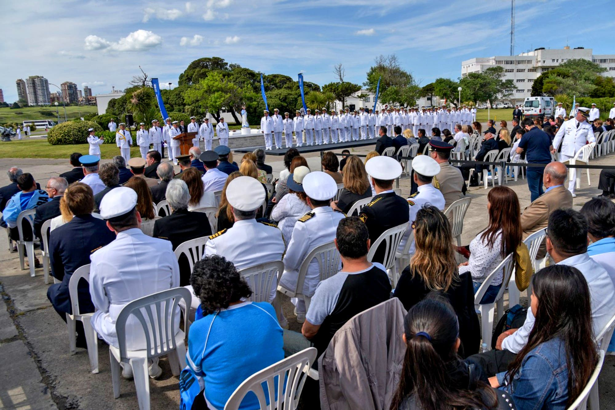ARA San Juan: entregaron un reconocimiento a los familiares de los 44 tripulantes