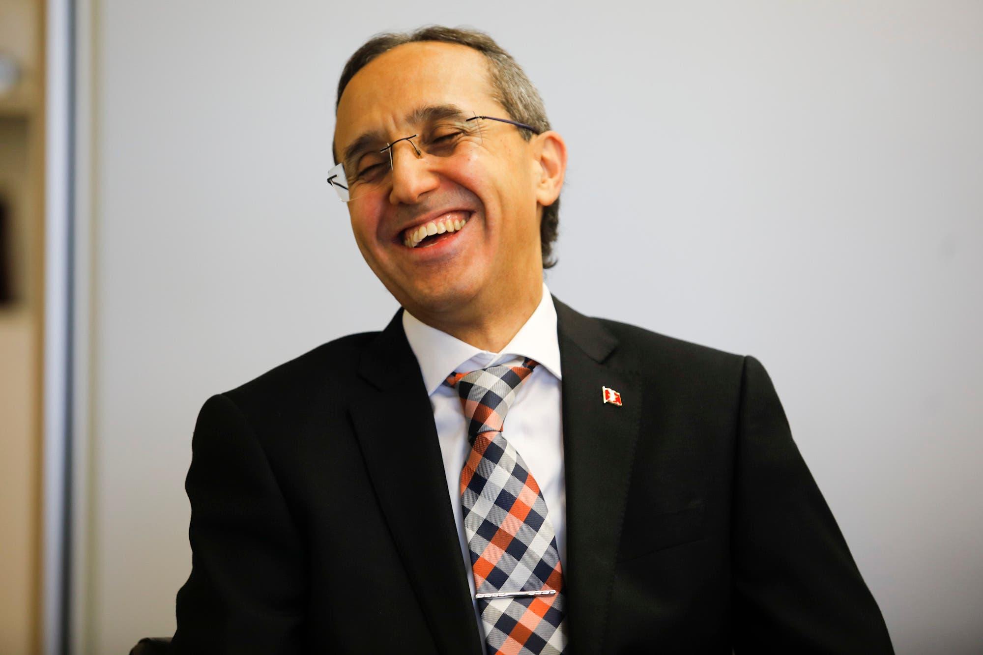 El embajador del Reino de Marruecos visitó LA NACION - LA NACION