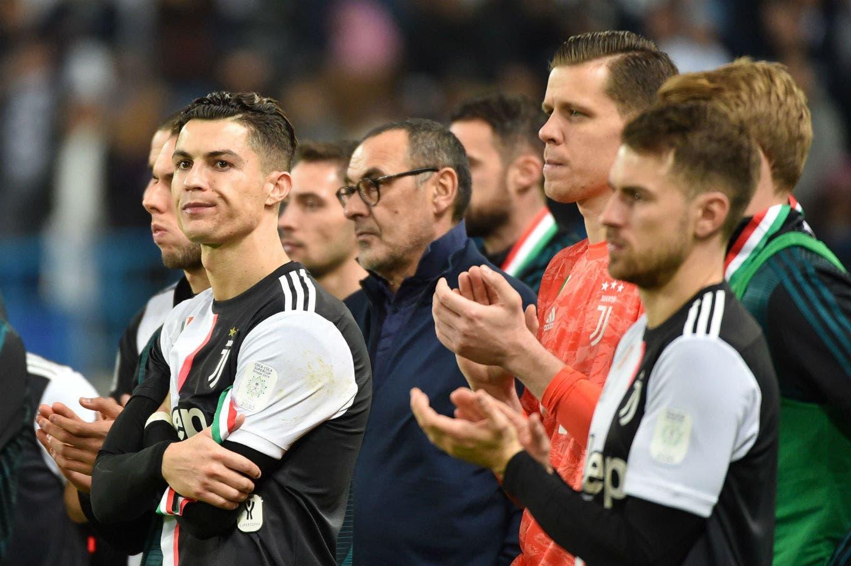 El enojo de Cristiano Ronaldo por perder una final tras seis años: su mala reacción al recibir la medalla