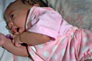Olivia nació en un albergue transitorio, en el barrio porteño de Liniers