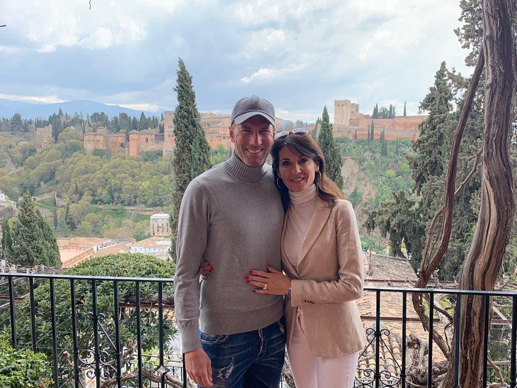 Detestaba el fútbol pero tuvo un papel decisivo en el Real Madrid: cómo es la relación de Zinedine Zidane con su esposa Véronique, de raíces españolas