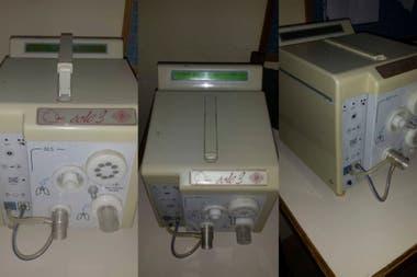 Este es el respirador artificial que presta Francisco: modelo EOLE 3