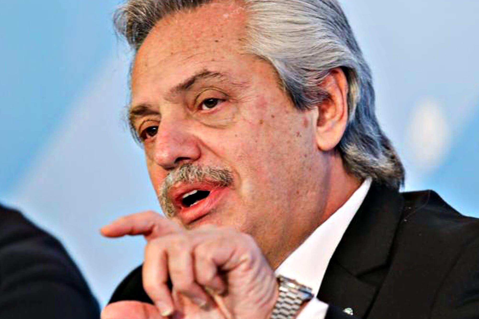 """Alberto Fernández: """"Es imposible que nos podamos mover de la oferta que hicimos"""""""