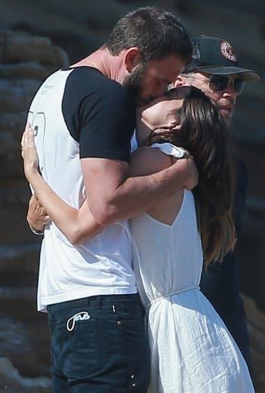 Ben y Ana, muy enamorados en las playas de Malibu