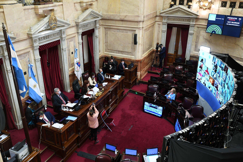 """Con seis meses de atraso, el Senado aprobó las capitales alternas donde desembarcará el """"gabinete federal"""""""