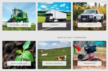 Mercado Libre lanza una plataforma para la venta de insumos y maquinaria agrícola