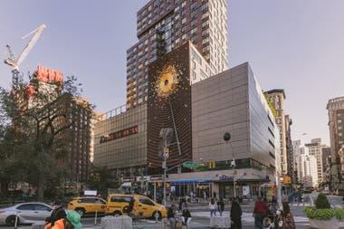 La obra de arte Metronome avisa a los neoyorquinos los das horas y minutos que le restaran a la Tierra para agotar sus recursos