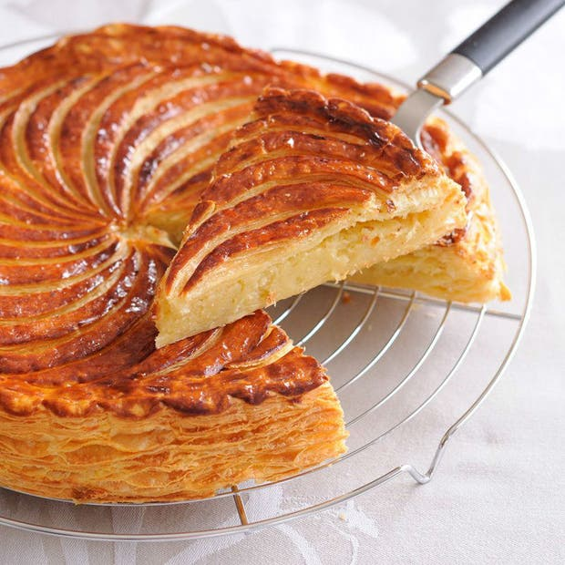 Receta de Galette des Rois o Rosca de Reyes como en Francia y Bélgica