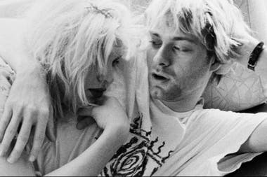Kurt Cobain y Courtney Love, íconos de los X