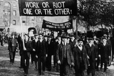 La Revuelta de Haymarket en la que acusaron a los Mártires de Chicago