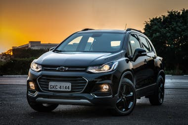 El Chevrolet Tracker Midnight Edition